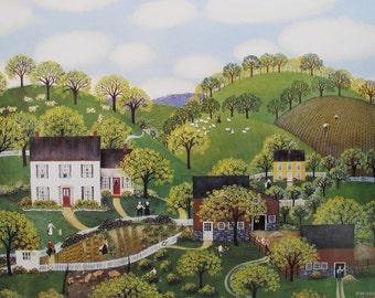 Spring Farm Print