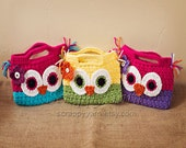 Crochet Toddler/Child Owl Purse