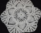 NEW - vintage white crochet doily