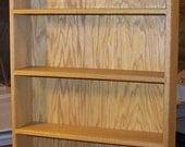 DVD/ CD/ Game/ Display/ shelf solid oak wood