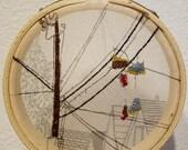 The neighborhood- embroidery art