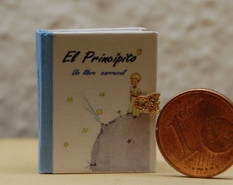 1/12 Miniature Pop-Up book El Principito