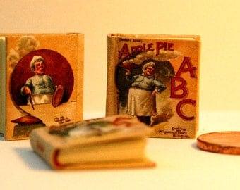 APPLE PIE ABC Miniature book 1:12 Scale