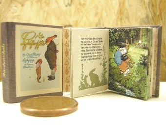 Die Häschenschule Miniature Book 1:12