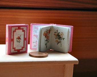 Victorian Rose Miniature book 1:12