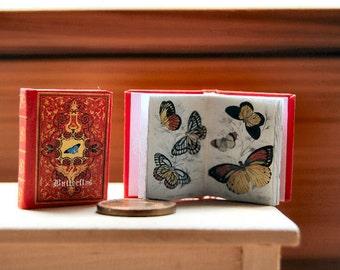 Butterflys Miniature book 1:12