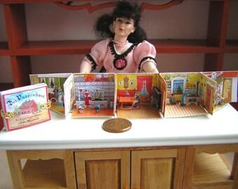 Dollshouse 1/12 (1 Inch) Pop-Up Book