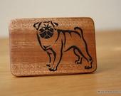Reserved listing - Pug belt buckle