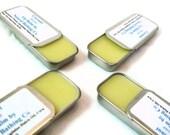 Coconut Lip Balm, Natural Lip Care, Shea Butter Lip Balm