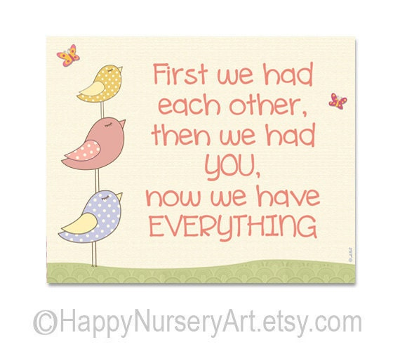 Quotes We Love Each Other: Items Similar To First We Had Each Other, Love Quote