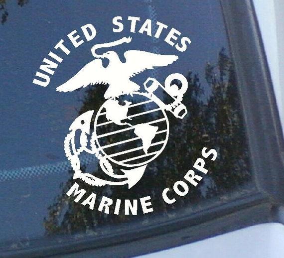 Marine Corps Logo Vinyl Decal