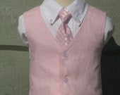 Reserved for Tevanmara - Size 4 and 8 Boys Custom Vest