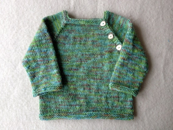 hand knit hand dyed alpaca toddler sweater