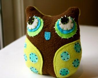 Li'l Brown - Owl Plushie