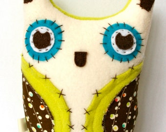 Sweet Cream -  Plush Owl Doll