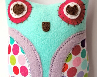 Purple Owl Plushie