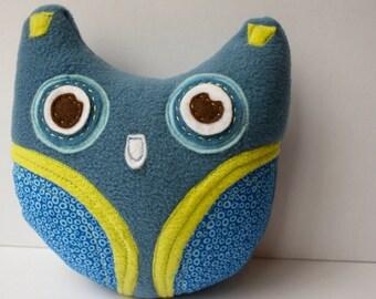 Blue Owl Plushie