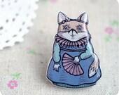 Lady Fox brooch