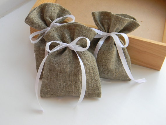 What To Put In Wedding Gift Bags: Items Similar To SET OF 100 Burlap Wedding Favor Bag Or