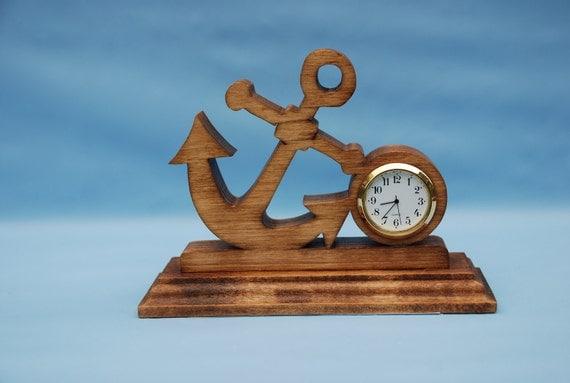 Anchor Desk Clock