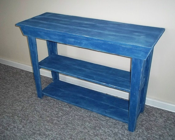 Rustic Console Table-Rustic Side Table-  Furniture -, Table,-T V Table,- Foyer Table,- Sofa Table, Plant Stand, Shabby Table , Wood,