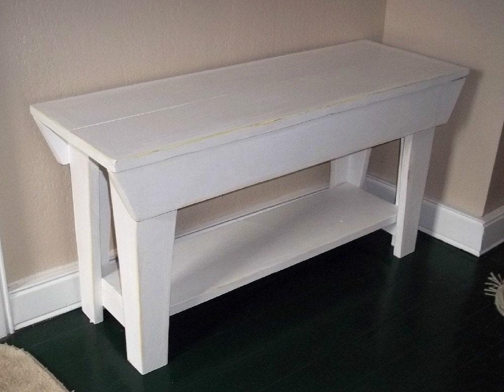 32 Inch Handmade Bench Furniture Seating Wood Benchshabby