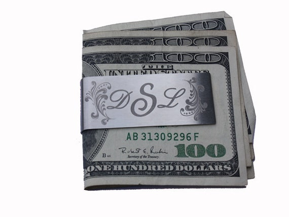 Engraved MONEY CLIP Groomsman Gift Wedding Gift Personalized any way you want!!!!!!