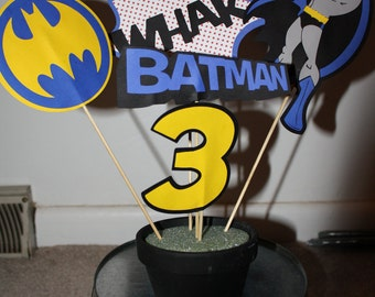 Batman/Super Hero Centerpiece