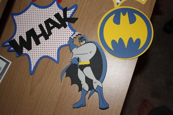 Batman/Superhero Centerpiece