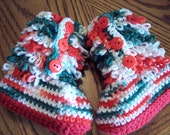 Clearance Furrylicious Baby Boots Size 6-12 mths