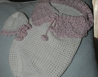 Crochet Baby Bunting and Matching Hat Pattern.....pdf