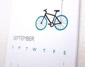 "SALE: 2012 Wall Calendar...5.5"" x 8.5"""