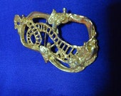 1980s Vintage JACOBs  ladder brooch