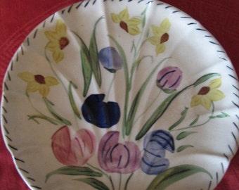 Blue Ridge china Flat Shell plate