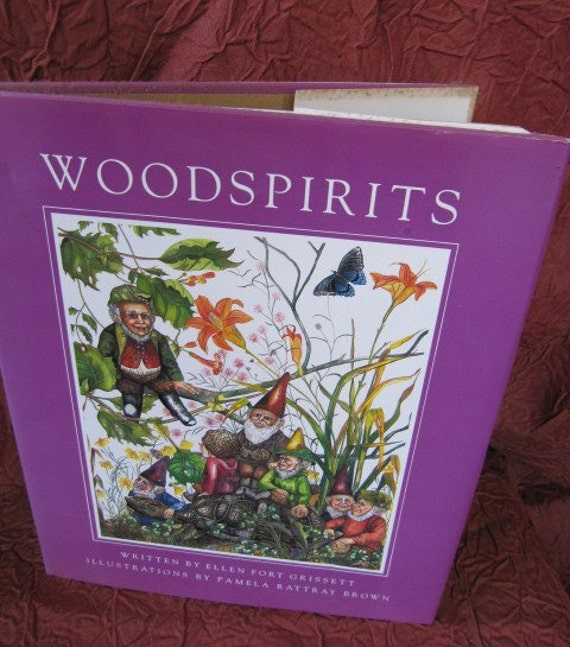 Illustrated Tom Clark picture book of gnomes & woodspirits