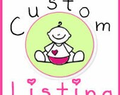 Custom Listing for Kelley