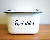 Vintage Vegetable Bin