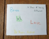 Brave Love- a story of being different inspirational zine.