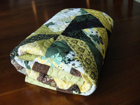 Quilt Lap Patchwork Handmade Comfy
