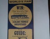 Map of the New York World's Fair 1964-1965
