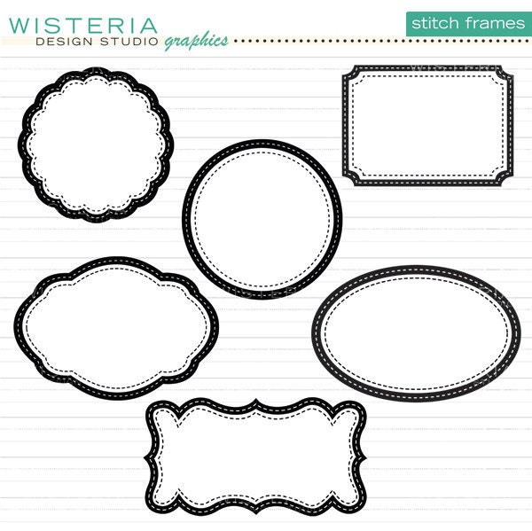 decorative clipart frames - photo #24