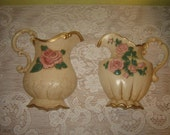 Reserved for Minteriors Home Interior and Gifts Wall Plaques Pitchers with Roses