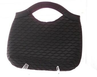 "Black ""Miss Lewis"" evening bag"