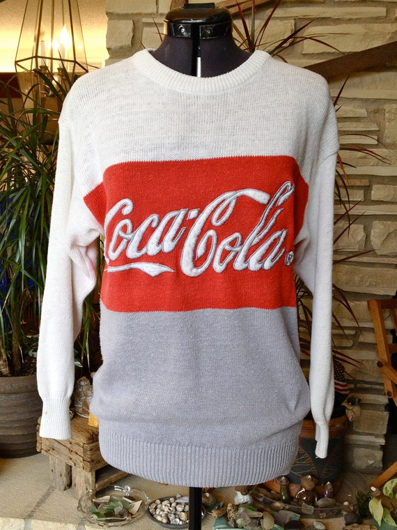 Vintage Coca Cola Sweater -- ON SALE -- Good Condition / Women's size small