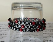 One Direction What Makes You Beautiful Song Lyrics Bracelet Is The Perfect Gift For Any One Direction Fan