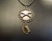 At Graves End - Night Huntress Series Inspired Necklace - Bones