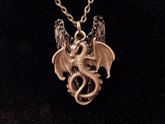 Infernal Devices Inspired Necklace - Dragon Nephilim