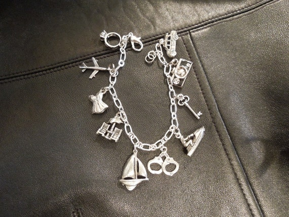 50 Shades Freed Inspired - Book Three Charm Bracelet