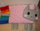 Extra Large Nyan Poptart Cat (free shipping)