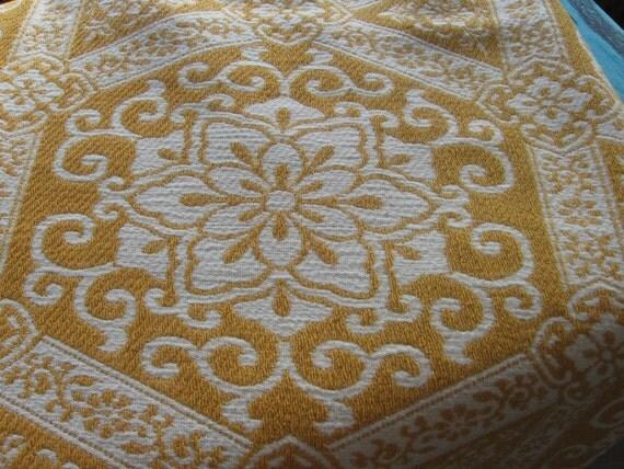 Vintage Bates Jacquard Bedspread